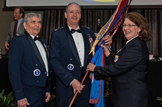 Col Bill Lane, Col Alvin J. Bedgood, Col Arlinda Bailey