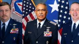 Col Parris, Maj Gen Carr, Col Gloyd