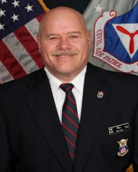 CAP Col Richard F. Hill, Rhode Island Wing Commander