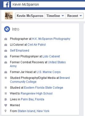 Lt Col Kevin McSparron