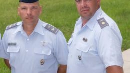 Col Henry Irizarry, Lt Col Kevin McSparron