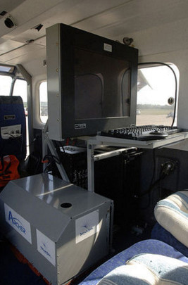 Archer System in a Gippsland GA8 Airvan Plane