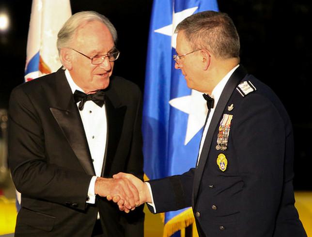 Senator Tom Harkin, CAP Maj Gen Joe Vazquez