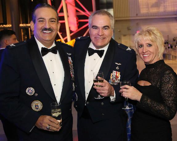 CAP Col Tom Kettel, CAP Col Rose Hunt