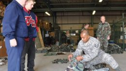 BDUs Donated to Delaware ANG Cadet Squadron and the 904th Composite Squadron, Civil Air Patrol