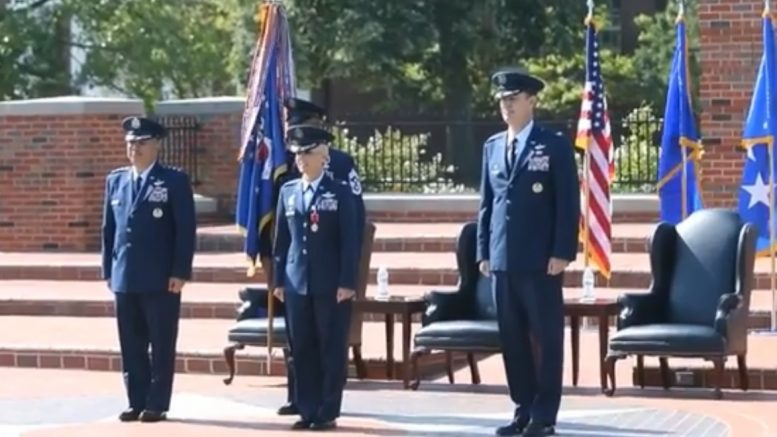 Scott AFB Change of Command for John O. Howard