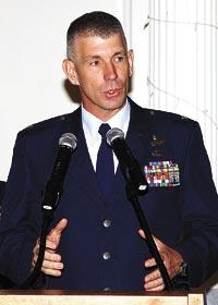 Col Russ Hodgkins, CAP-USAF Commander