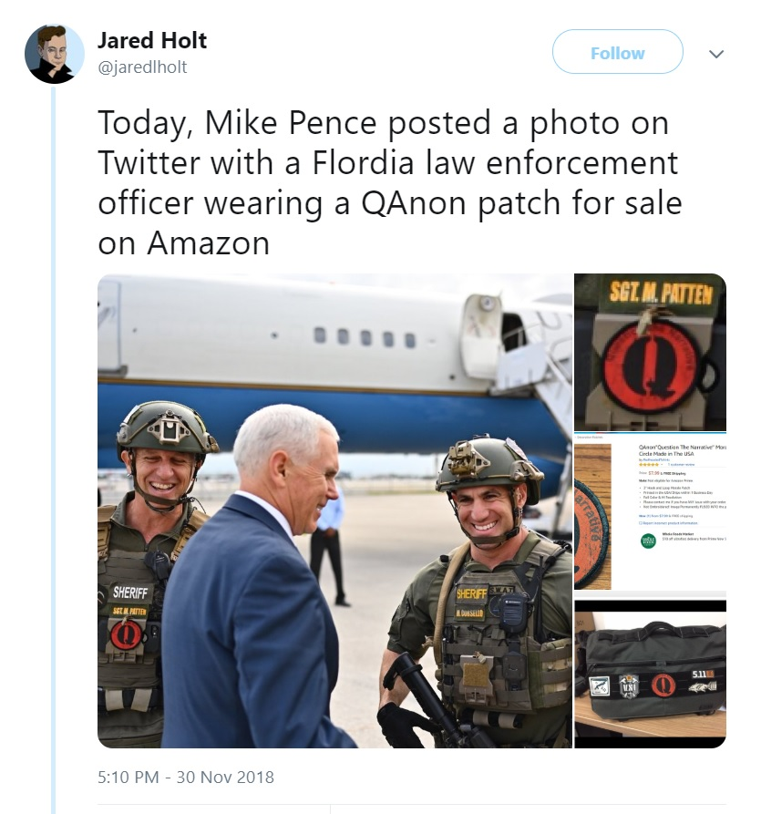 Jared Hold Scoops Pence and QAnon