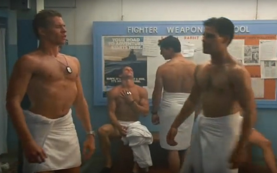 Top Gun Lockeroom Subversion