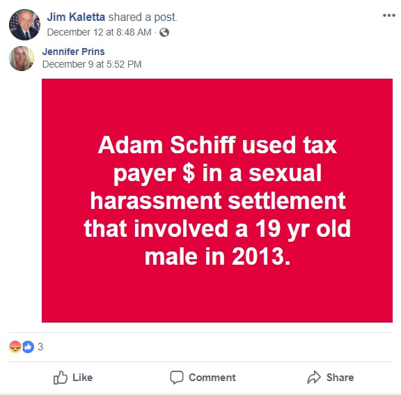 Civil Air Patrol attacks Sen Adam Schiff