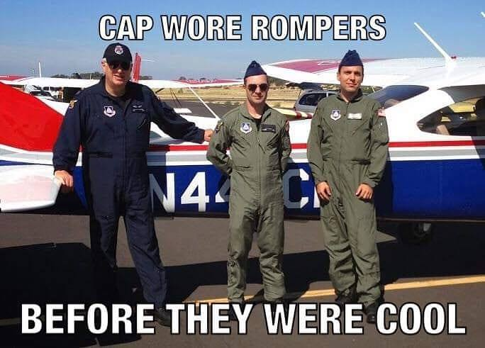 Civil Air Patrol Meme Romper Room