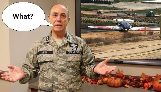 Civil Air Patrol Meme Flipped Aircraft
