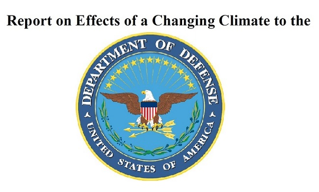 DOD Report on Climate Change Impact