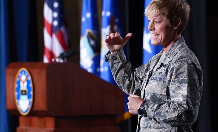 USAFA Commandant removed