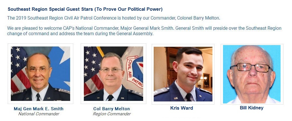 Stars of Southeast Region Civil Air Patrol