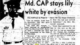 Civil Air Patrol's Tuskegee trained pilot Julius Carroll