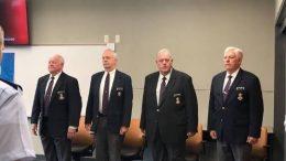 Civil Air Patrol Richard L. Bowling, Barry Melton, Roger Middleton, Al Van Lengen